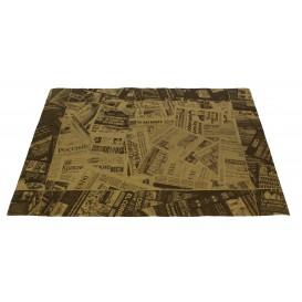 """Tischsets Papier Kraft 30x40cm """"Press"""" 50g (2500 Stück)"""