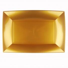 Plastiktablett Gold Nice PP 345x230mm (30 Stück)