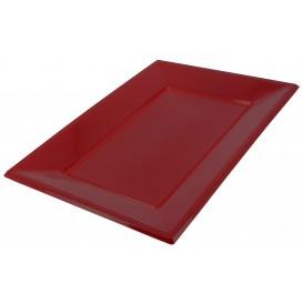 Plastiktablett Bourdeaux 330x225mm (25 Stück)