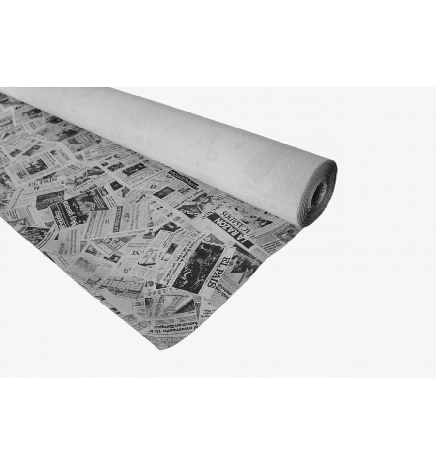 papiertischdecke rolle zeitung wei 1 2x100m 37g 6 st ck. Black Bedroom Furniture Sets. Home Design Ideas