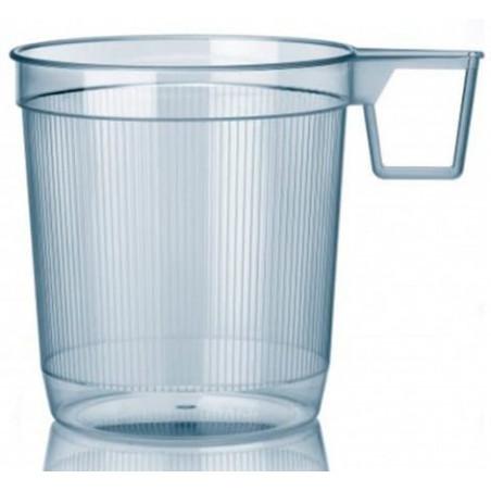 Transparente Becher für Tee 250 ml (40 Einheiten)