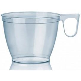 Transparent Plastiktasse PS 180ml (50 Stück)