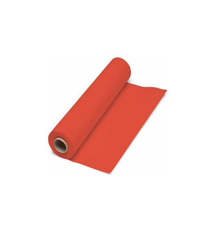 Papiertischdecke Rolle rot 1x100m 40g (1 Stück)