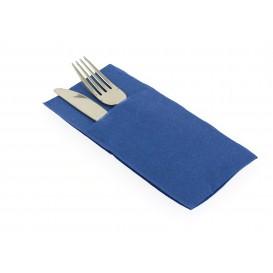 Bestecktaschen Blau 40x40cm (30 Stück)
