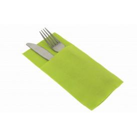 Bestecktaschen Pistaziengrün 40x40cm (30 Stück)