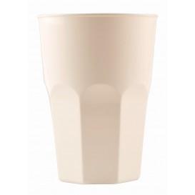 Plastikbecher für Cocktail Weiß PP Ø84mm 350ml (20 Stück)