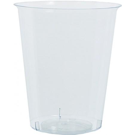 Transparente Plastikbecher 600ml PP (25 Einheiten)