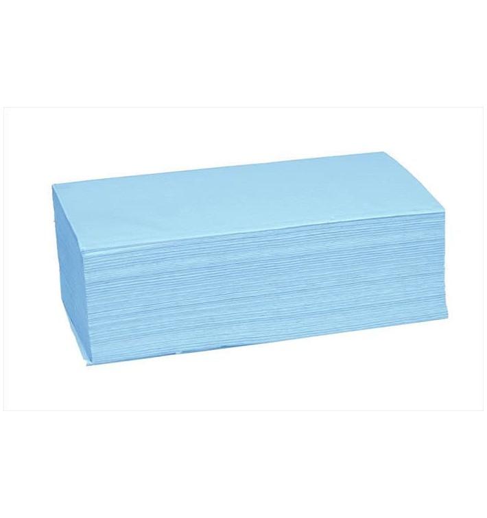 Papierhandtücher Blau (190 Stück)