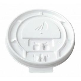 Deckel flach für Kartonbecher 8, 9, 12 Oz Ø8,0cm (100 Stück)