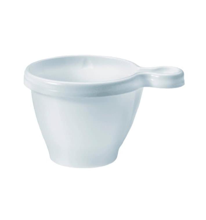 Plastiktasse Weiß PS 80ml (50 Stück)