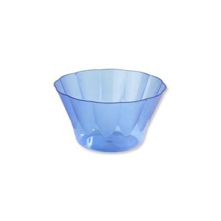 Copa ROYAL para  COCTAIL Azul de Plastico 400ml (Paquete 30 Uds)