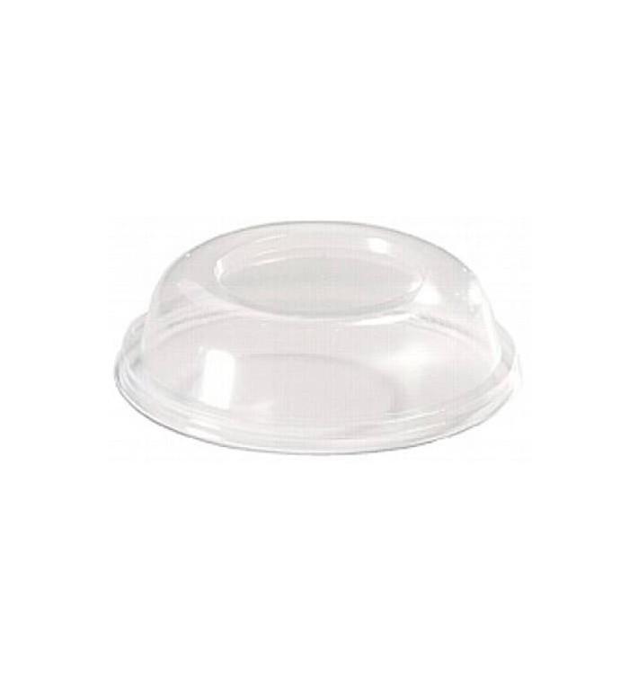 Dom-Deckel geschlossen für Plastikglas 260ml (500 Stück)