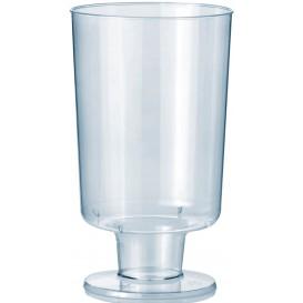 Plastikgläser mit Fuβ 150ml (12 Stück)