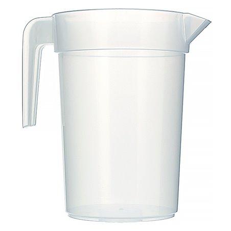 Plastik Wasserkrug 1.000ml Unzerbrechbar (6 Einheiten)