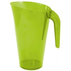 Plastikkrug 1.500ml Mehrweg Grün (20 Stück)