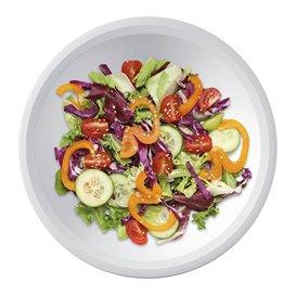 Plastikteller Rund Tief Weiß Ø195mm (150 Stück)