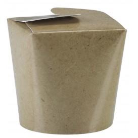 "Faltbox Pappe Kraft ""To Go"" 529ml (500 Stück)"