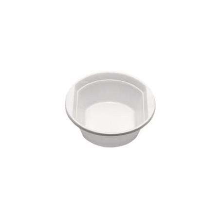Bol de Plastico PS Blanco 250 ml  (Paquete 100 unidades)