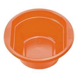 Orange Plastikschale 250ml (30 Stück)