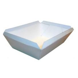 Pommesschale weiß 250ml 9,6x6,5x4,2cm (25 Stück)