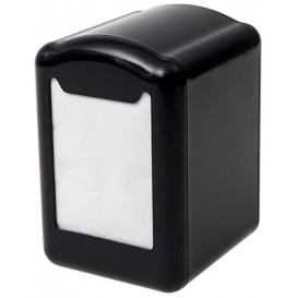 Serviettenspender aus Plastik Schwarz Miniservis 17x17 (1 Stück)