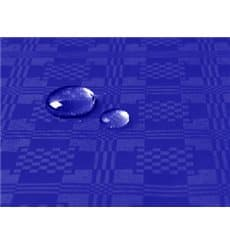 Tischdecke wasserdicht blau 5x1,2 Meterware (10 Einh.)