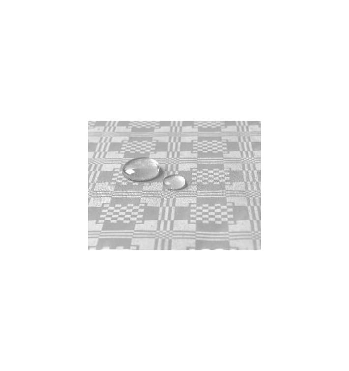 Tischdecke wasserdicht silber 1,2x5 Meterware (10 Einh.)