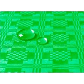 Tischdecke wasserdicht grün Kiwi 5x1,2 Meterware (10 Einh.)