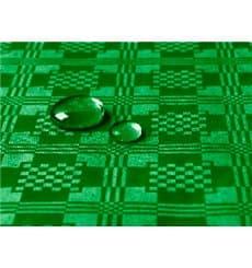 Tischdecke wasserdicht dunkelgrün 5x1,2 Meterware (1 Einh.)
