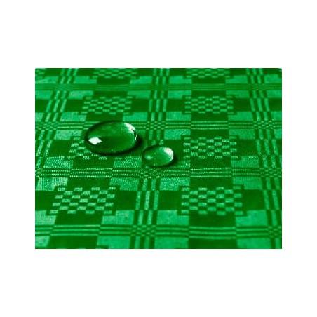 Tischdecke wasserdicht dunkelgrün 5x1,2 Meterware (10 Einh.)