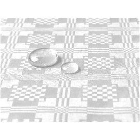 Tischdecke wasserdicht weiß 1,2x5 Meterware (10 Einh.)