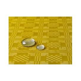 Tischdecke wasserdicht gelb 5x1,2 Meterware (10 Einh.)