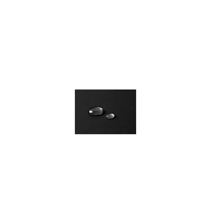 Tischdecke wasserdicht schwarz 1,2x5 Meterware (1 Einh.)