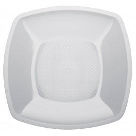 Plastikteller Glatt Weiß 230mm (25 Stück)