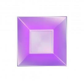 Plastikteller Tiefe Violett Nice Pearl PP 180mm (25 Stück)