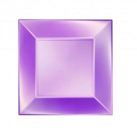 Plastikteller Flach Violett Nice Pearl PP 230mm (25 Stück)