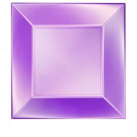 Plastikteller Flach Violett Nice Pearl PP 290mm (12 Stück)