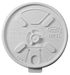 "PlastikDeckel PS ""Lift n' Lock"" mit Klappe Weiß Ø8,9cm (100 Stück)"