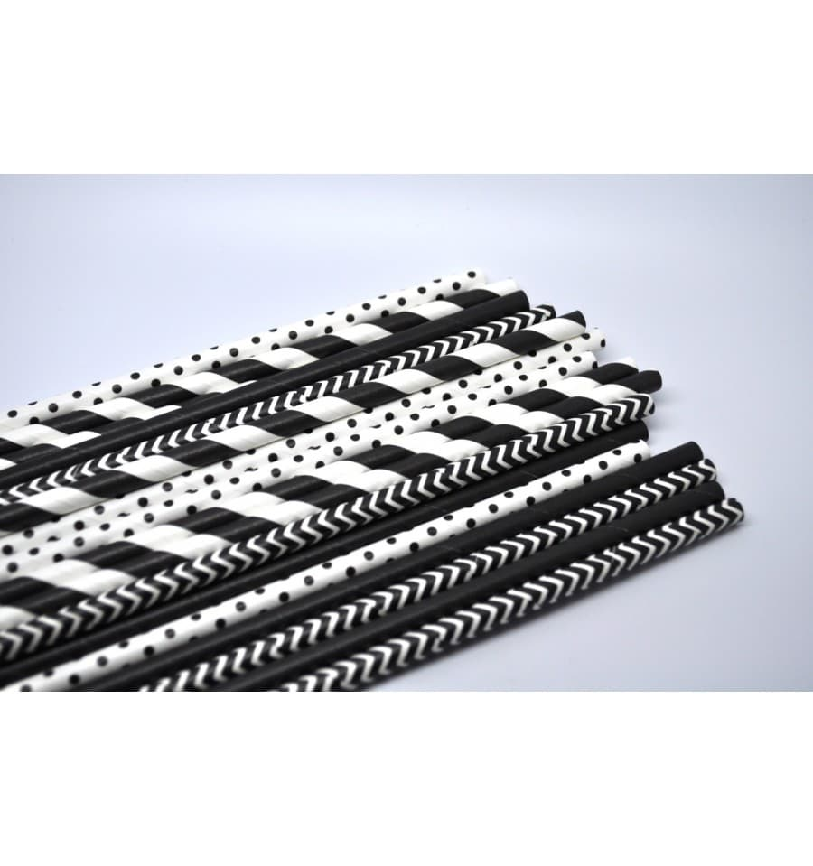 trinkhalme aus papier starr 6mm 200mm st ck. Black Bedroom Furniture Sets. Home Design Ideas