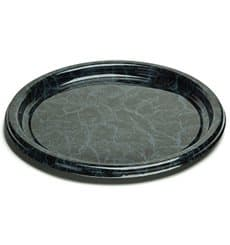 Plastikteller rund marmor 23cm (250 Stück)