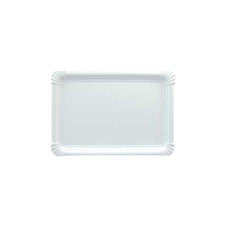 Pappschale rechteckig weiß 25x34cm (200 Stück)