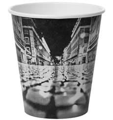 """Karton Kaffeebecher """"Parisian"""" 6Oz/180ml Ø7,9cm (50 Stück)"""