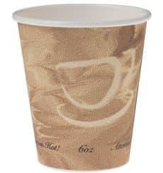 """Karton Kaffeebecher """"Mistique"""" 6Oz/180ml Ø7,0cm (50 Stück)"""