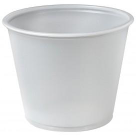 Dressingbecher Plastik PS für Soβen 165ml Ø73mm (250 Stück)
