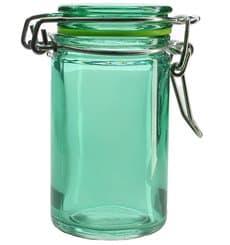 Einmachglas Grün transparent 70 ml (8 Einh.)