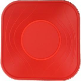 "Plastikschale PP ""X-Table"" Rot 18x18cm (112 Stück)"