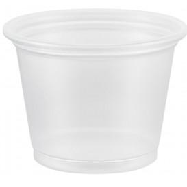 Dressingbecher Plastik PP für Soβen 30ml Ø48mm (125 Stück)