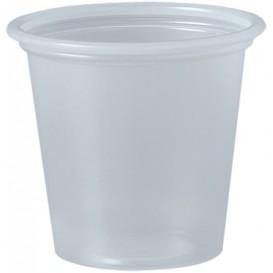 Dressingbecher Plastik PP für Soβen Transp. 35ml Ø48mm (250 Stück)