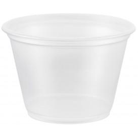 Dressingbecher Plastik PP für Soβen 75ml Ø66mm (125 Stück)