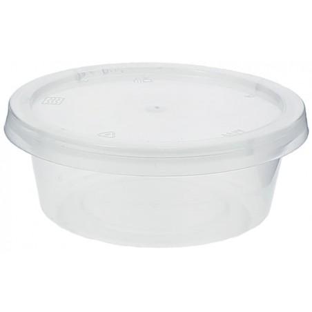 Dressingbecher für Saucen mit Deckel 85ml (100 Einh.)
